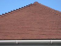 Concrete Roof tiles image